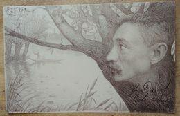 ORENS, Edouard David, Poète Picard, Nov.1902, Lithographie Numérotée 109 - Orens