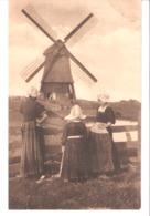 Volendam-Noord-Holland-1913-Molen Te Volendam-Moulin à Vent-edt.F.B. Den Boer, Middelburg-Timbre Belgique COB 110 - Volendam