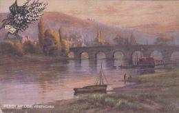 Royaume-Uni - Scotland - Perth Bridge - Tuck's Postkarte - Perthshire