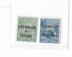 Wallis Et Futuna N°40 Et 41** - Wallis Und Futuna