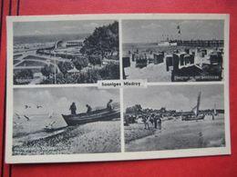 """Międzyzdroje / Misdroy - Mehrbildkarte """"Sonniges Misdroy"""" / Feldpost - Poland"""