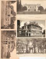 Boechout / Bouchout : Château Du Mr. Moretus --- Kasteel Moretus ------ 5 Kaarten - Boechout