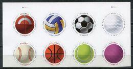 USA 2017 Estados Unidos / Balls Sports Football Basketball Volleyball Tennis Golf Baseball MNH Deportes / Cu6716  36 - Briefmarken