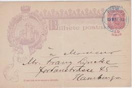 GUINEE BISSAU 1898 ENTIER POSTAL CARTE DE BOLAMA - Portugees Guinea
