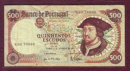 PORTUGAL - 500 ESCUDOS Jean II - 06/09/1979 - P.170b - Portugal