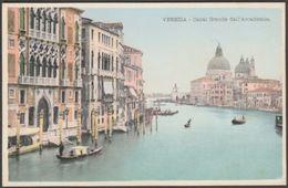Canal Grande Dell'Accademia, Venezia, Italia, C.1905 - Cartolina - Venezia (Venice)