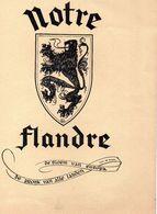 Notre Flandre (De Bloem Van Europa - De Pronk Van Alle Landen) 1954 - Poésie