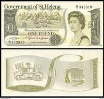Saint Helena 1 Pound 1981 P9a UNC - Saint Helena Island