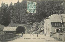- Vosges -ref-A572- Bussang - Tunnel - Cote Alsacien - Carte Bon Etat - - Col De Bussang