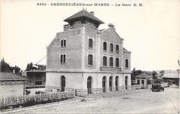 94 CHENNEVIERES SUR MARNE - La Gare - Extérieur - Chennevieres Sur Marne