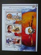 Mars Space. Raumfahrt. Espace # Niger # 2015 Used S/s # Viking - Space