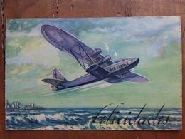 SPAGNA 1937 - Cartolina Postale In Franchigia - Air France + Spese Postali - Lettres
