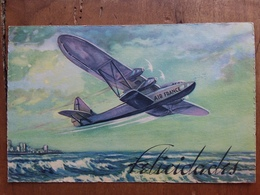 SPAGNA 1937 - Cartolina Postale In Franchigia - Air France + Spese Postali - Poste Aérienne
