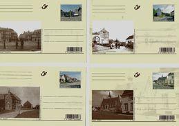 BELGIE - BELGIQUE  -  BK160/169  Vroeger En Nu - 2007 - AAN POSTPRIJS - PRIX DE LA POSTE - Entiers Postaux