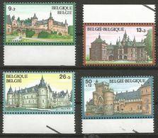 Belgium - 1987 Castles MNH **    Sc B1063-6 - Belgium
