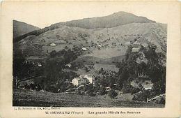 - Vosges -ref-A568- Bussang - Les Grands Hotels Des Sources - Hotel - Thermalisme - Sante - Carte Bon Etat - - Bussang