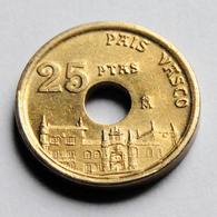 """España - 25 Pesetas - """"Pais Vasco"""" - 1993 - [ 5] 1949-… : Koninkrijk"""