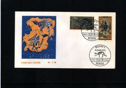 Germany 1978 Fossils FDC - Fossielen