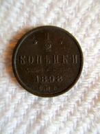 Russie: 1/2 Kopek 1898 - Russia