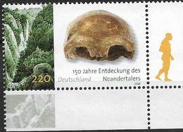 2006 Allem. Fed. Deutschland Germany Mi. 2553**MNH EUR 150. Jahrestag Der Entdeckung Des Neandertalers - Unused Stamps