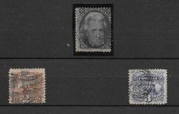 ETAT UNIS YVERT LOTE LOT   COTATION YVERT TELLIER EUROS 165.- VOIR SCAN - 1847-99 Algemene Uitgaves