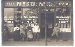 93 - AUBERVILLIERS -  CARTE PHOTO - SUCCURSALE PRIMISTERE PARISIEN Avec Belle Animation - Dépôt LG - Aubervilliers