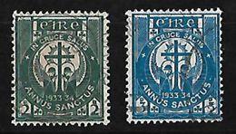 IRLANDA 1933 AÑO SANTO SERIE COMPLETA - 1922-37 Estado Libre Irlandés