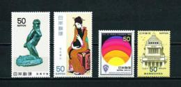 Japón  Nº Yvert  1348/9-1350/1  En Nuevo - 1926-89 Emperador Hirohito (Era Showa)