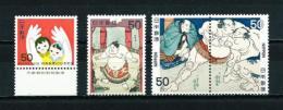Japón  Nº Yvert  1282-1283/5  En Nuevo - 1926-89 Empereur Hirohito (Ere Showa)