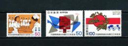 Japón  Nº Yvert  1221-1223/4  En Nuevo - 1926-89 Emperador Hirohito (Era Showa)