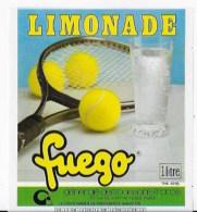 10 étiquettes LIMONADE FUEGO - Etiquettes