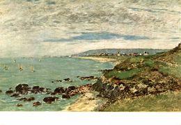 EUGENE BOUDIN HONFLEUR 1824 - Peintures & Tableaux