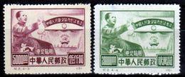 Cina-A-0228 - Nord-Est 1950 - Senza Difetti Occulti. - Noordoost-China 1946-48
