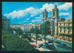 Túnez. Tunis. *La Cathédrale* Ed. H. Ismail Nº H071. Nueva. - Túnez