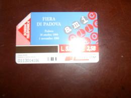B678  Scheda Telefonica Fiera Di Padova - Schede Telefoniche