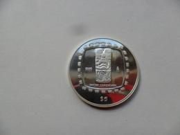 MÉXICO 5 PESOS , ONZA DE PLATA   999 Ml 1996   31,10g KM#598  PROOF63 - México
