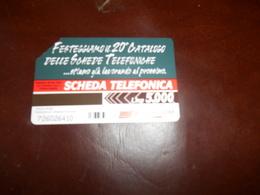 B678  20 Catalogo Delle Schede Telefoniche - Schede Telefoniche