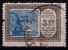 ARGENTINIË -   1928 - Mi. Nr. 331 - Luchtpost -gebruikt/used/oblit/ Gebraucht  - ° - Argentine