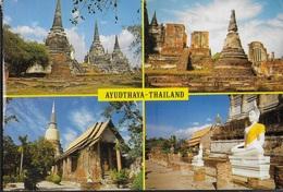 THAILANDIA - AYUDTHAYA - VIAGGIATA VIA AEREA 1989  DA SINGAPORE - Tailandia