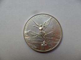 MÉXICO  1/2 ONZA DE PLATA   999 Ml 1998  15,60 G - Mexique