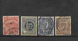 LOTE 1625  ///  ALEMANIA IMPERIO   YVERT Nº: 25/28 - Oficial