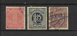 LOTE 1625  ///  ALEMANIA IMPERIO   YVERT Nº: 25/26+28 - Oficial