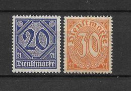 LOTE 1625  ///  ALEMANIA IMPERIO   YVERT Nº: 12/13 - Oficial