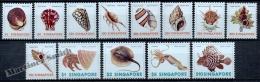 Singapour - Singapore 1977 Yvert 262-74, Definitive. Shells, Shellfish And Pisces - MNH - Singapore (1959-...)