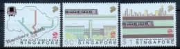 Singapour - Singapore 1988 Yvert 529-31, Mass Rapid Transit System - MNH - Singapore (1959-...)