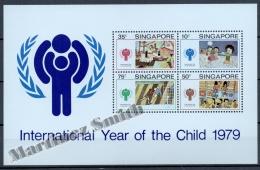 Singapour - Singapore 1979 Yvert BF 11, International Year Of The Child - Miniature Sheet - MNH - Singapur (1959-...)