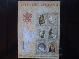 Vaticano - 1983 - Collezioni Vaticane D'arte Negli Stati Uniti D'America.2a Emissione - MNH ** - Blocchi E Foglietti