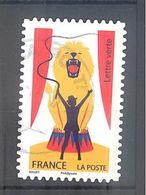 France Autoadhésif Oblitéré (Le Cirque) (cachet Rond) - France