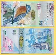 Bermuda 2 Dollars P-57 2009 (Prefix A/1) UNC - Bermudas
