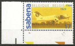 Belgium - 1998 Sabena Airways MNH **    Sc 1689 - Unused Stamps